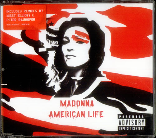 Madonna American Life 2003 UK 2CD single set W603CD1CD2