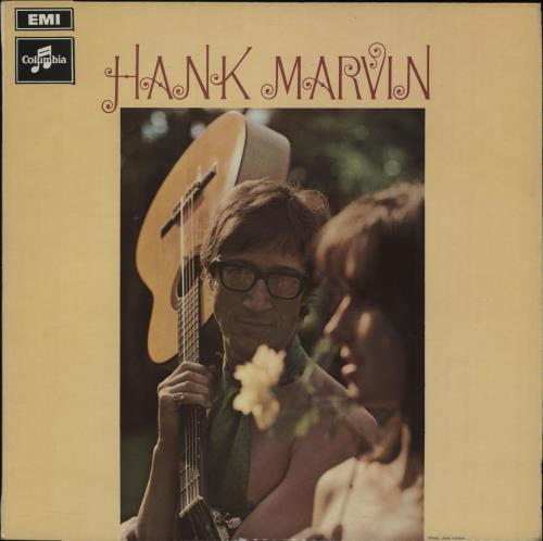 Hank Marvin Hank Marvin - 1st 1969 UK vinyl LP SCX6352
