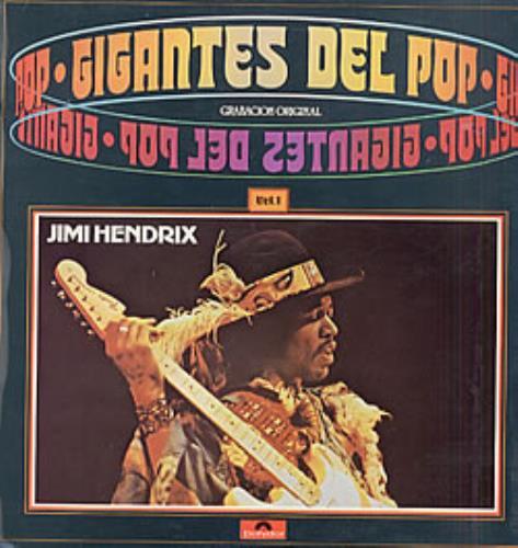 Hendrix, Jimi - Gigantes Del Pop
