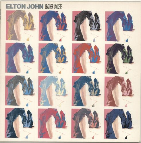 Elton John Leather Jackets 1986 UK vinyl LP EJLP1