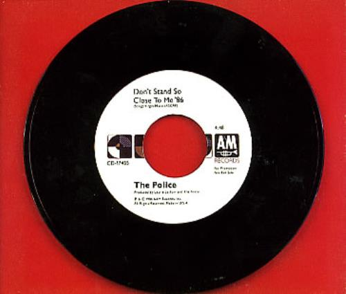 Police - Don't Stand So Close To Me '86