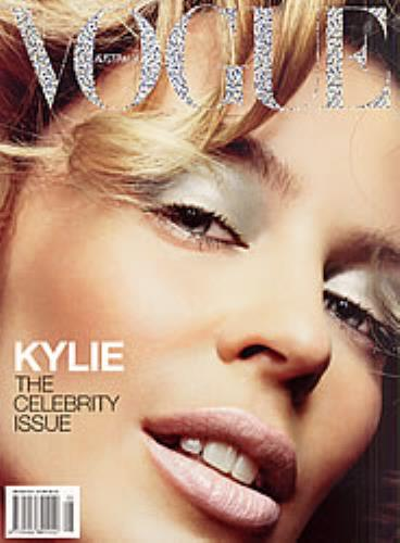 Kylie Minogue Vogue  Kylie The Celebrity Issue 2003 Australian magazine MAGAZINE