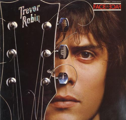Trevor Rabin Face To Face 1979 Japanese vinyl LP WWS81279