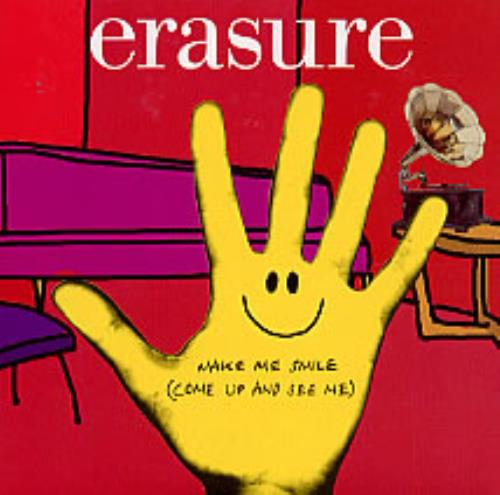 Erasure Make Me Smile (Come Up And See Me) 2003 UK CD single RCDMUTE292