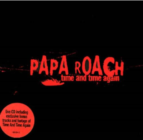 Papa Roach Time And Time Again 2002 UK CD single 4508042
