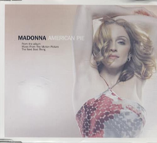 Madonna American Pie  CD1 2000 UK CD single W519CD1