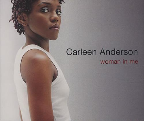 Image of Carleen Anderson Woman In Me 1998 UK CD single YRCD129