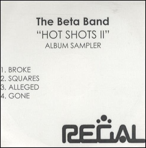 The Beta Band Hot Shots II Album Sampler UK CD-R acetate CD-R ACETATE
