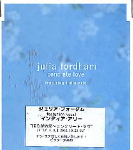 Fordham, Julia - Concrete Love