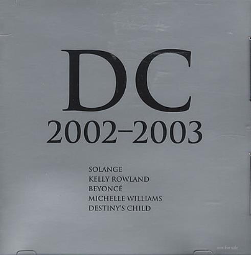 Destiny's Child - Dc 2002-2003