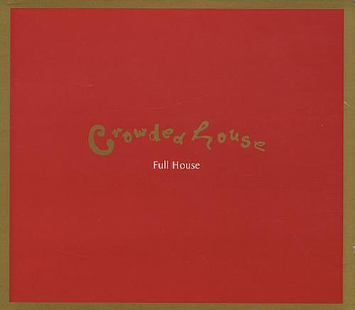 Crowded House Full House 1994 UK CD album CDCHDJ1