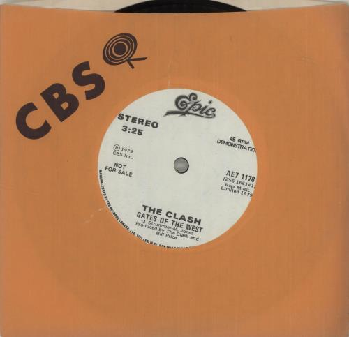 The Clash Groovy Times - Solid 1979 Canadian 7\