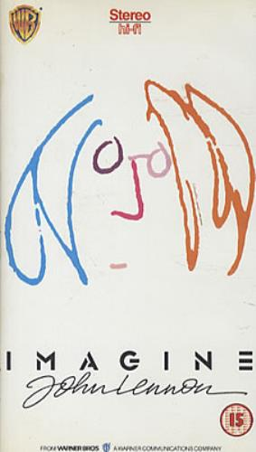 John Lennon Imagine 1988 UK video PES11819