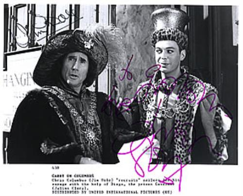 Carry On Carry On Columbus  Autographed UK photograph 438