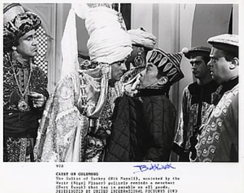 Carry On Carry On Columbus  Autographed UK photograph 978