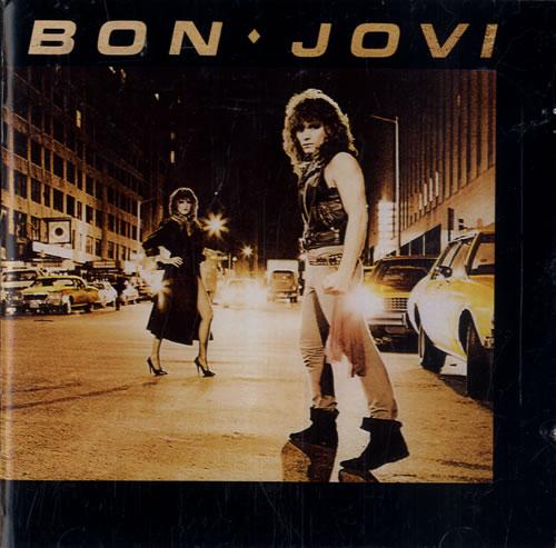 Bon Jovi Bon Jovi UK CD album 8149822