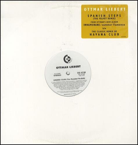 Ottmar Liebert Spanish StepsRome In May 1999 USA 12 vinyl EAS42748
