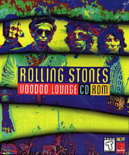 Rolling Stones Voodoo Lounge 1995 USA CDROM 724347782121