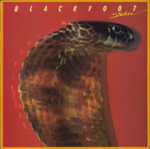 Blackfoot - Strikes CD