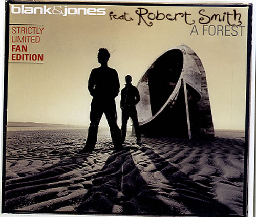 Blank & Jones A Forest 2003 German CD single 5050466936424