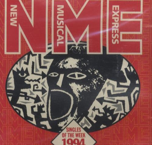 Oasis Singles Of The Week 1995 UK CD album NMERCACD1