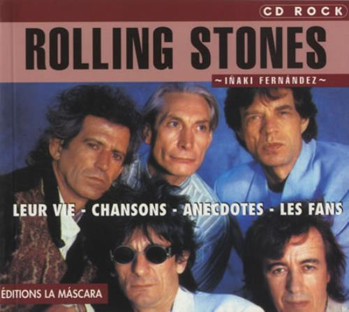 Rolling Stones Rolling Stones 1999 French book 9