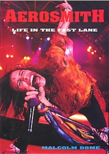Aerosmith Life In The Fast Lane 1994 UK book 1-898141-75-4