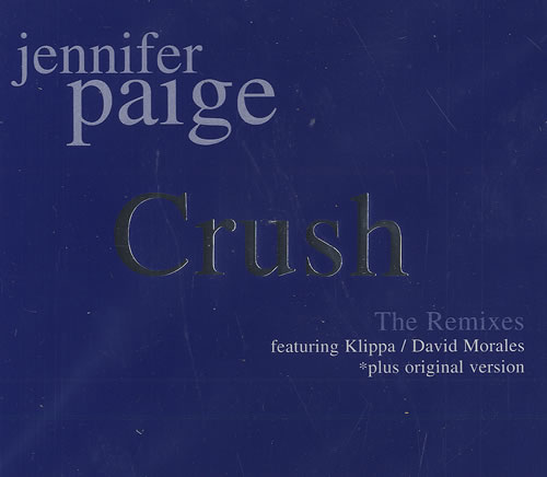 Jennifer Paige Crush - The Remixes 2000 German CD single 0115795ERE