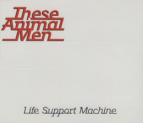 These Animal Men Life Support Machine 1996 UK CD single HUTCD76