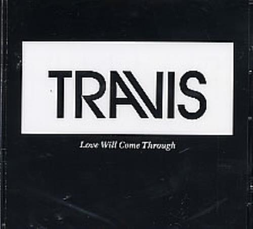 Travis (90s) Love Will Come Through 2004 USA CD single ESK59050