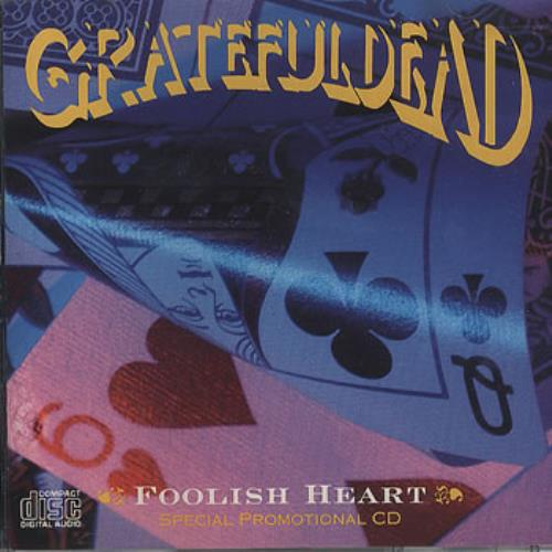 Grateful Dead Foolish Heart 1989 USA CD single ASCD-9899 lowest price