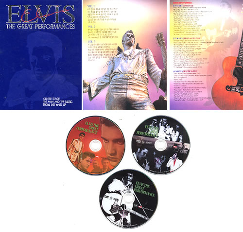 Elvis Presley The Great Performances Korean DVD FDVD252