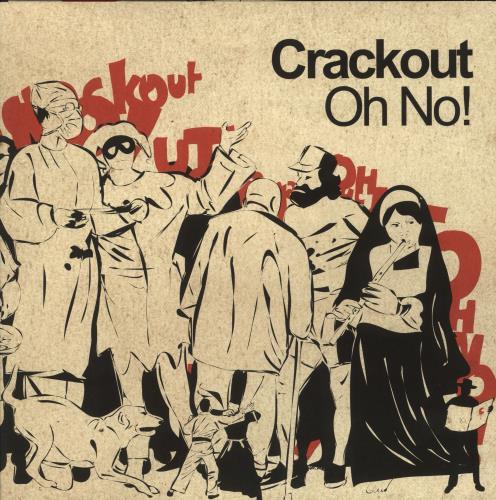 Image of Crackout Oh No! 2004 UK vinyl LP HUTLP83