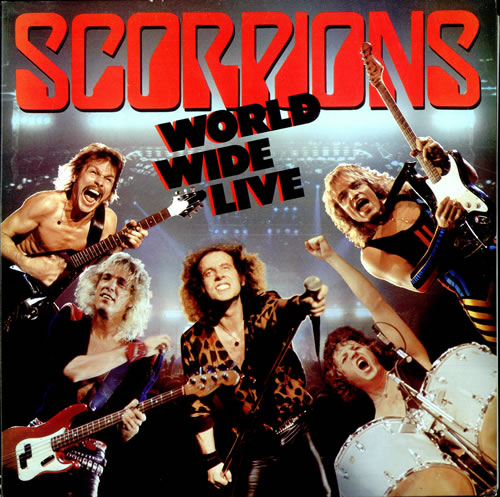 Scorpions - World Wide Live CD