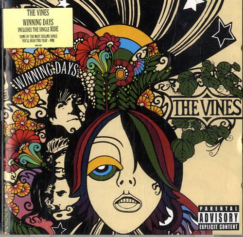 Image of The Vines Winning Days 2004 UK CD album HVNLP48CD