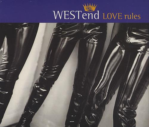 Image of West End Love Rules 1995 UK CD single 74321292702