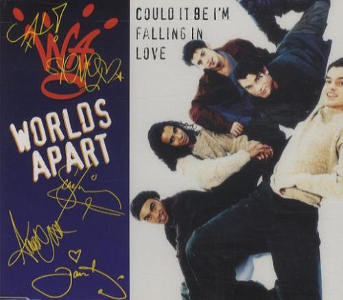 Worlds Apart Could It Be I\'m Falling In Love 1994 UK CD single 189952