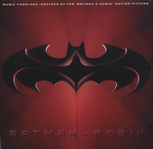 Image of Batman & Robin Batman & Robin 1997 German CD album 9362-46620-2