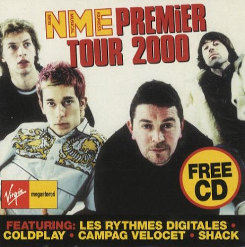VariousIndie NME Premier Tour 2000 2000 UK CD album NMETOUR2000