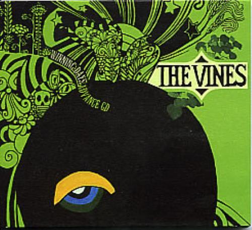 Image of The Vines Winning Days Advance CD 2004 UK CD album HVNLP48CDP