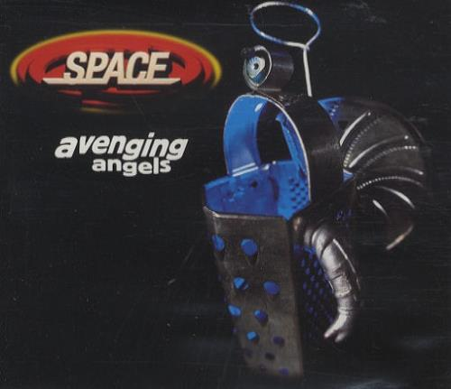 Space (90s) Avenging Angels  The Remixes 1997 UK CD single CXGUT16