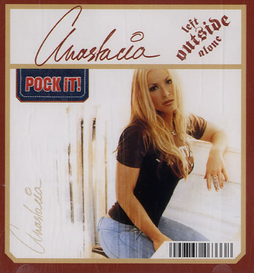 Anastacia Left Outside Alone 2004 German 3 CD single 6746333000