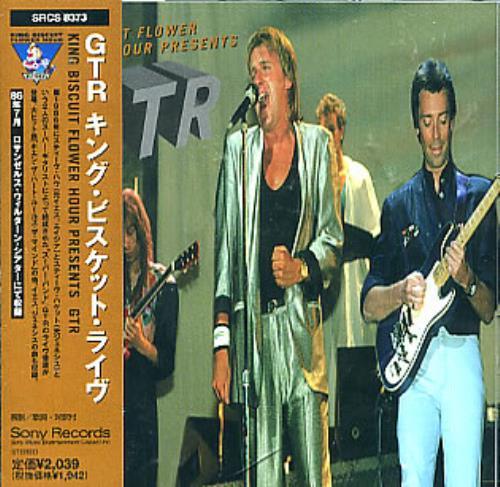 GTR King Biscuit Hour Presents GTR 1997 Japanese CD album SRCS8373