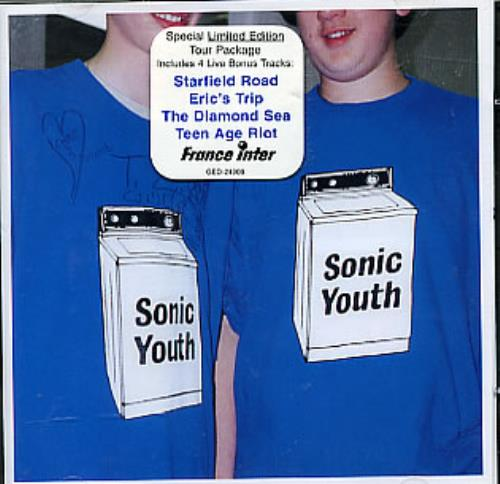 Sonic Youth Washing Machine 1995 French 2CD album set GED24909