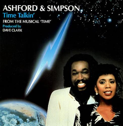 "Image of Ashford & Simpson Time Talkin' 1986 UK 12"" vinyl 12EMI5555"