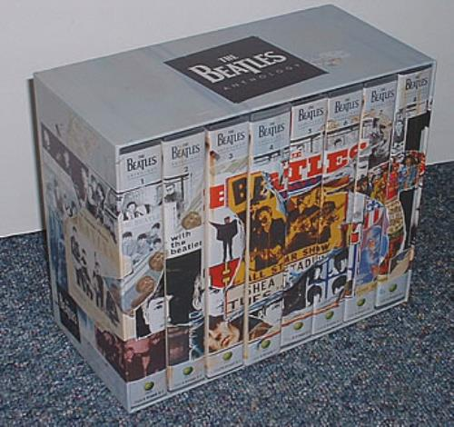The Beatles The Beatles Anthology  Italian Edition 1996 Italian box set 4916643