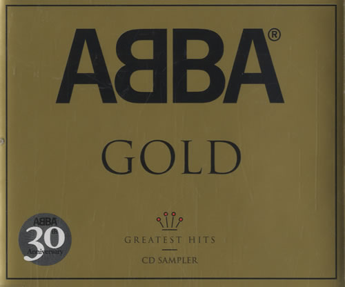 Abba Abba Gold  Greatest Hits Sampler 2004 UK CD single ABBA30