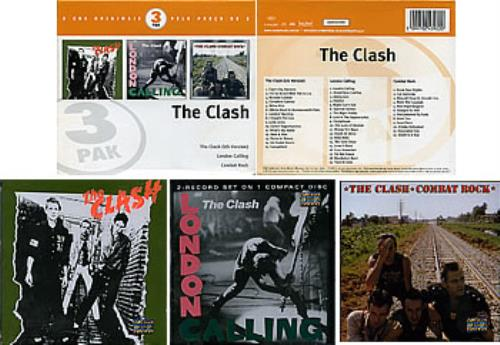 The Clash The Clash  3 Pak Brazilian 3CD set 2024392