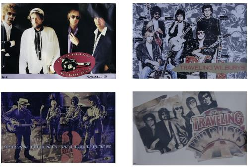 Traveling Wilburys Set Of 4 Promo Posters USA poster POSTERS