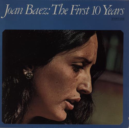 Joan Baez The First 10 Years 1974 UK 2LP vinyl set VSD65601